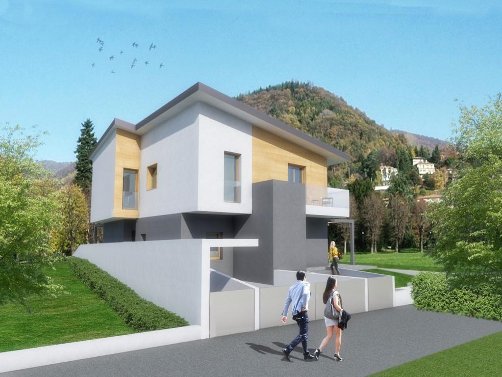 Villa bifamiliare classe a alzano lombardo bergamo for Case a bergamo