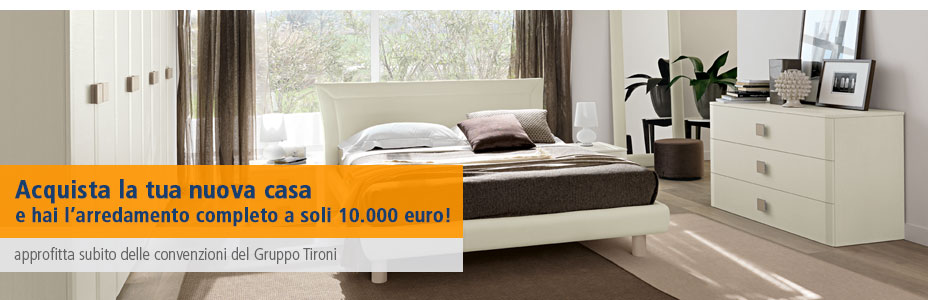 Convenzioni arredamento a soli euro for Arredamento appartamento completo